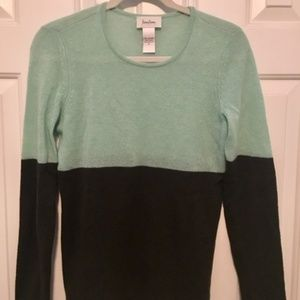 Neiman Marcus Green 100% Cashmere Sweater (M)